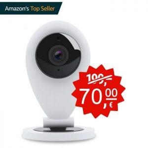 HIKAM S6 Überwachungskamera MINI IP WLAN Kamera innen