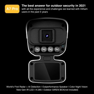 A7Pro Outdoor Security Camera Main